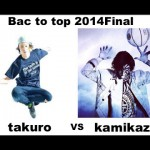 bac to pec 2014 Final takuro vs kamikaze